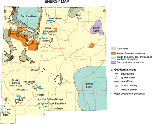 NM energy map