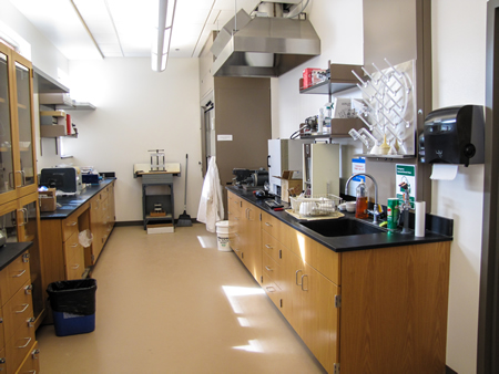XRD sample prep lab