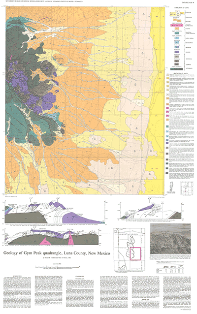 Geologic Map Of Georgia.Geologic Map 58