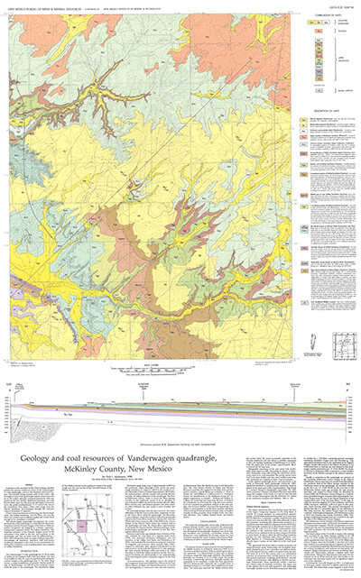 Geologic Map 64 on