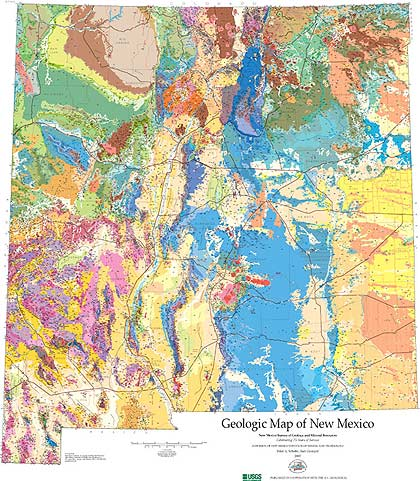 Geologic Map of New Mexico
