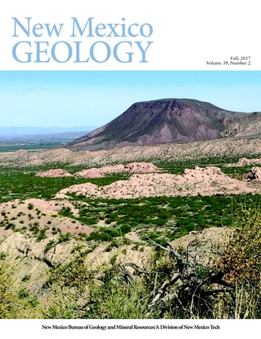New Mexico Geology cover