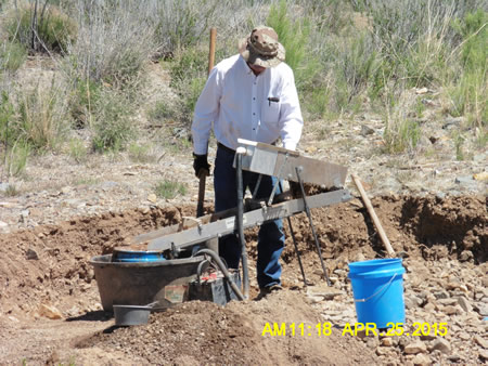 Placer Gold deposits in New Mexico