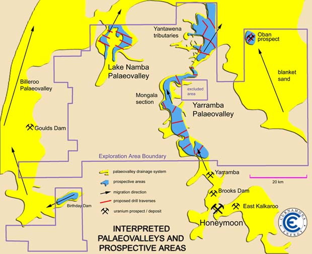 Uranium Where Is It - Were is the us's nuclear uranium mined map