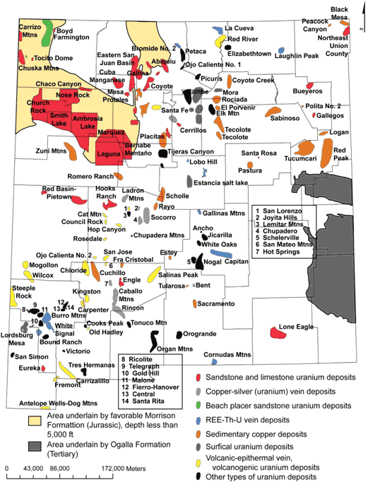 NM mining districts